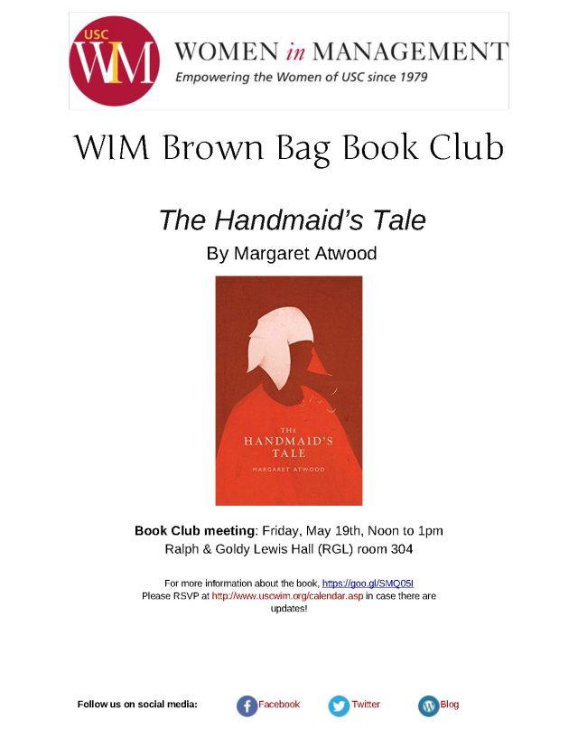 Handmaid's Tale flyer
