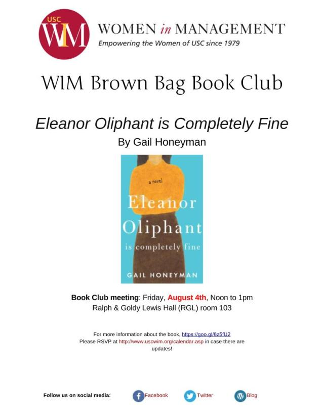 Eleanor Oliphant is Completely Fine flyer (1)