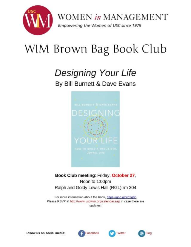 Designing Your Life flyer